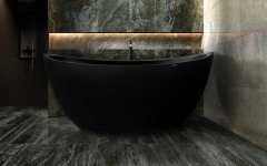 Aquatica purescape 171m blck freestanding solid surface bathtub customer photos 02