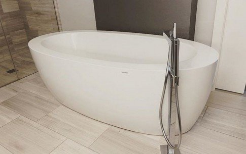 California usa aquatica purescape 174b wht freestanding acrylic bathtub