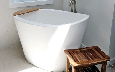 San francisco usa aquatica trueofuro freestanding solid surface bathtub