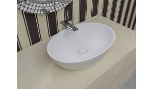 Aquatica Sensuality Lavabo vasija de piedra moldeada