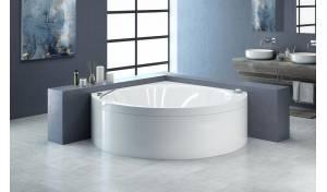 Suri, la bañera angular Aquatica en material acrílico