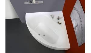 Aquatica Olivia™ de Esquina, Blanca, de Material Acrílico