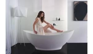 Bañera independiente superficie sólida Aquatica Purescape™ 621M